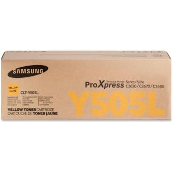 Originální toner Samsung CLT-Y505L (Žlutý)