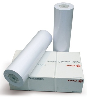 Papírová role Xerox 420 mm x 50 m, 75g/m2, plotterový papír, bílý