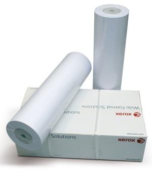 Papírová role Xerox 594 mm x 50 m, 75g/m2, plotterový papír, bílý