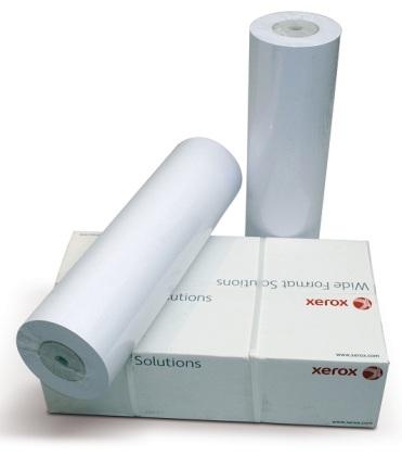 Papírová role Xerox 594 mm x 50 m, 75g, plotterový papír, bílý