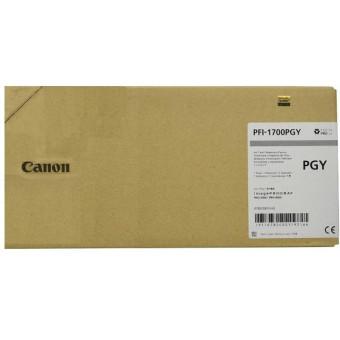 Originální cartridge Canon PFI-1700PGY (Foto šedá)