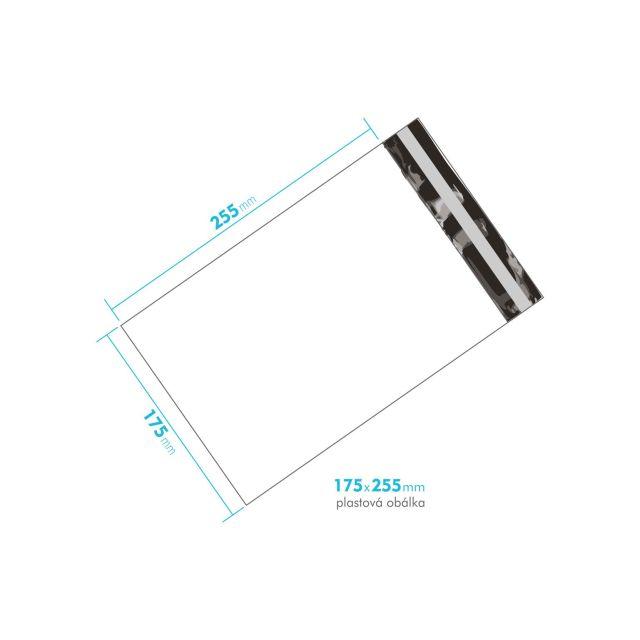 Plastová obálka 175x255 mm