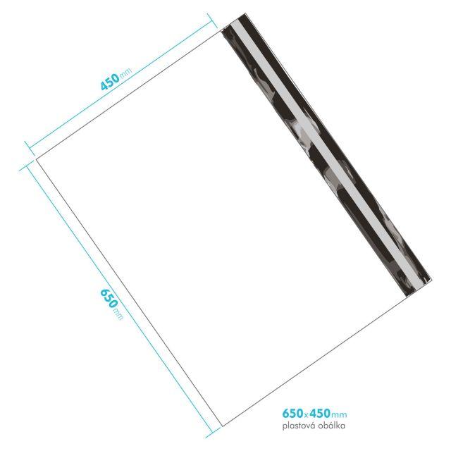 Plastová obálka 650x450 mm