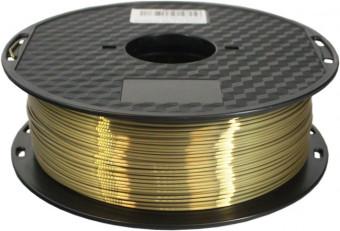Tisková struna PLA pro 3D tiskárny, 1,75mm, 1kg, hedvábně - bronzová