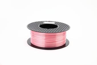 Tisková struna PLA pro 3D tiskárny, 1,75mm, 1kg, hedvábně - růžová