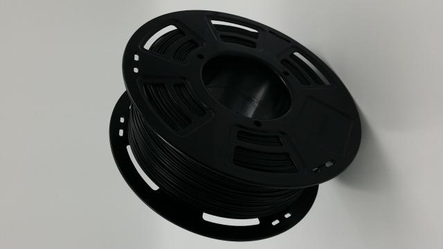Tisková struna ABS pro 3D tiskárny, 1,75mm, 1kg, černá