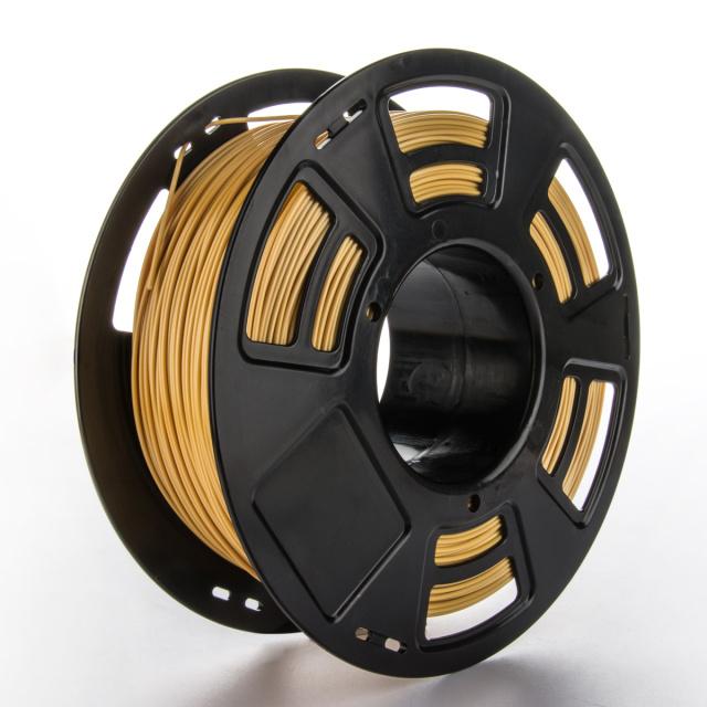 Tisková struna ABS pro 3D tiskárny, 1,75mm, 1kg, zlatá