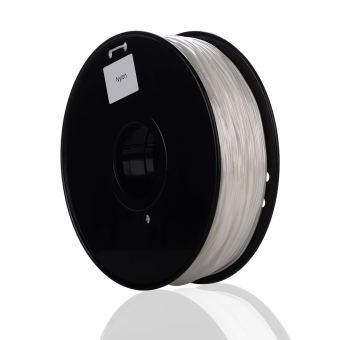 Tisková struna NYLON pro 3D tiskárny, 1,75mm, 1kg, přírodní