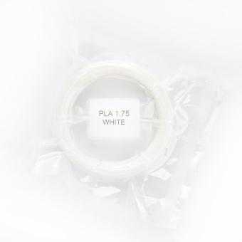 Tisková struna PLA pro 3D pera, 1,75mm, 5m, bílá