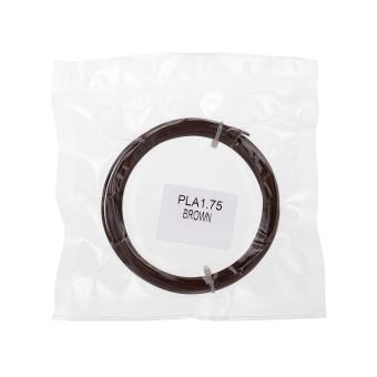 Tisková struna PLA pro 3D pera, 1,75mm, 5m, hnědá