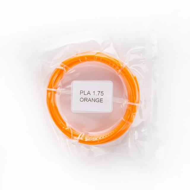 Tisková struna PLA pro 3D pera, 1,75mm, 5m, oranžová