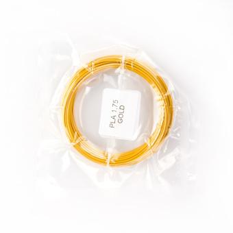 Tisková struna PLA pro 3D pera, 1,75mm, 5m, zlatá