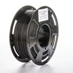 Tisková struna PLA pro 3D tiskárny, 1,75mm, 1kg, černá
