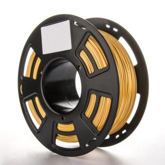 Tisková struna PLA pro 3D tiskárny, 1,75mm, 1kg, GT-polymer, zlatá