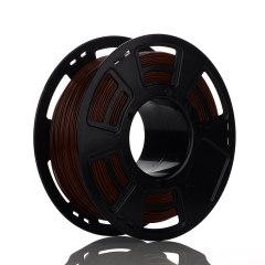 Tisková struna PLA pro 3D tiskárny, 1,75mm, 1kg, hnědá