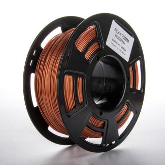 Tisková struna PLA pro 3D tiskárny, 1,75mm, 1kg, s příměsí mědi