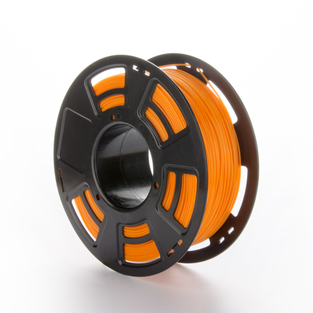 Tisková struna PLA pro 3D tiskárny, 1,75mm, 1kg, oranžová