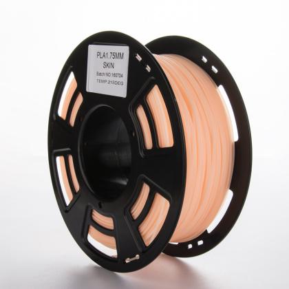 Tisková struna PLA pro 3D tiskárny, 1,75mm, 1kg, pleťová