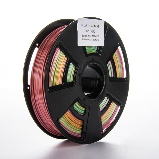 Tisková struna PLA pro 3D tiskárny, 1,75mm, 0,75 kg, různobarevná