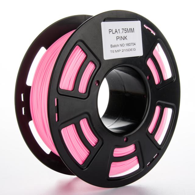Tisková struna PLA pro 3D tiskárny, 1,75mm, 1kg, růžová