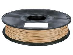Tisková struna PLA pro 3D tiskárny, 1,75mm, 1kg, s příměsí dřeva (světlá)