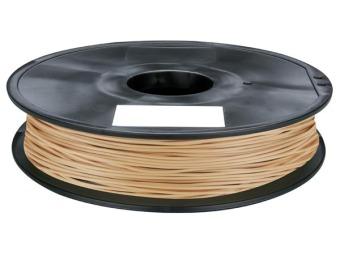 Tisková struna PLA pro 3D tiskárny, 1,75mm, 0,75kg, s příměsí dřeva (světlá)
