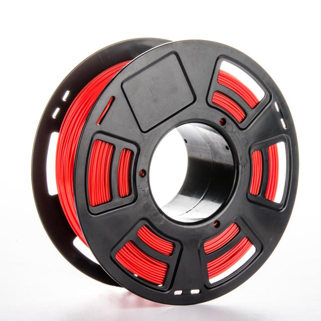 Tisková struna PLA pro 3D tiskárny, 1,75mm, 1kg, GT-polymer, červená