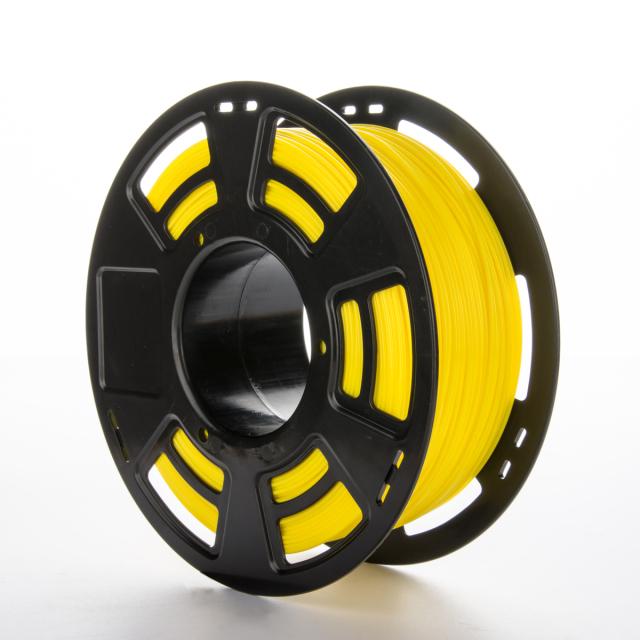 Tisková struna PLA pro 3D tiskárny, 1,75mm, 1kg, GT-polymer, žlutá