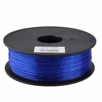 Tisková struna třpytivá pro 3D tiskárny, 1,75mm, 1kg, modrá